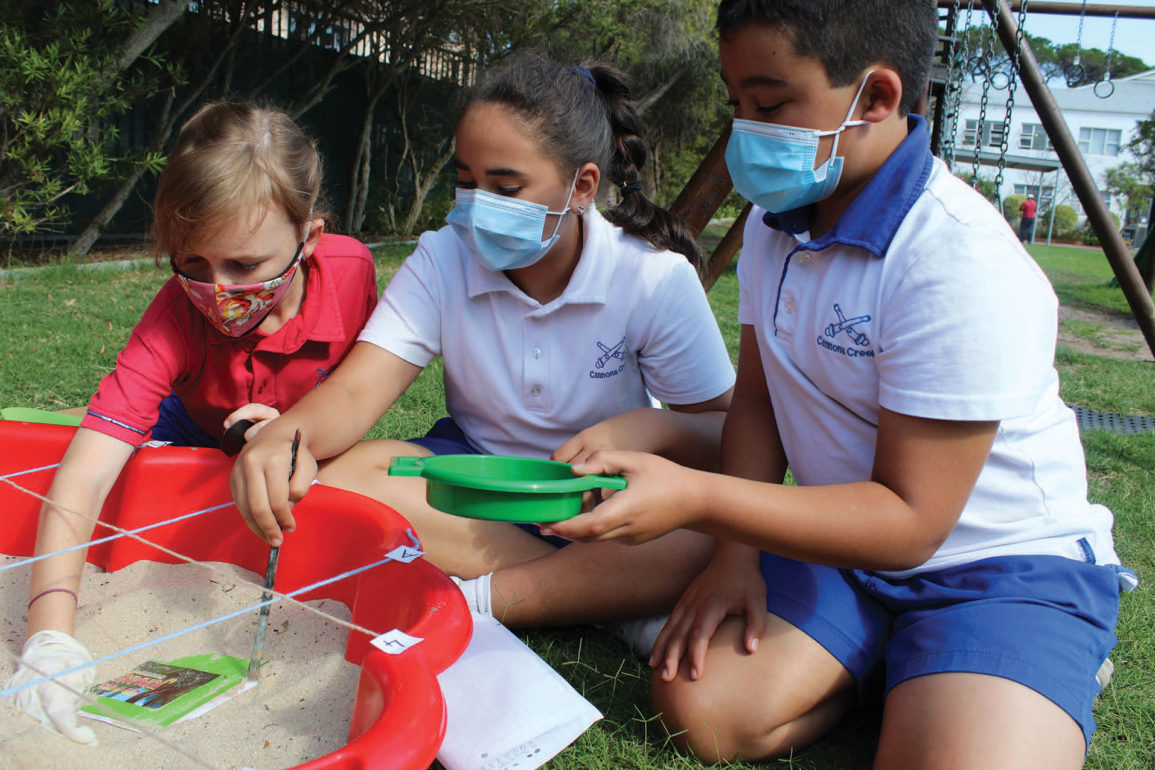Cannons Creek School outdoor projects