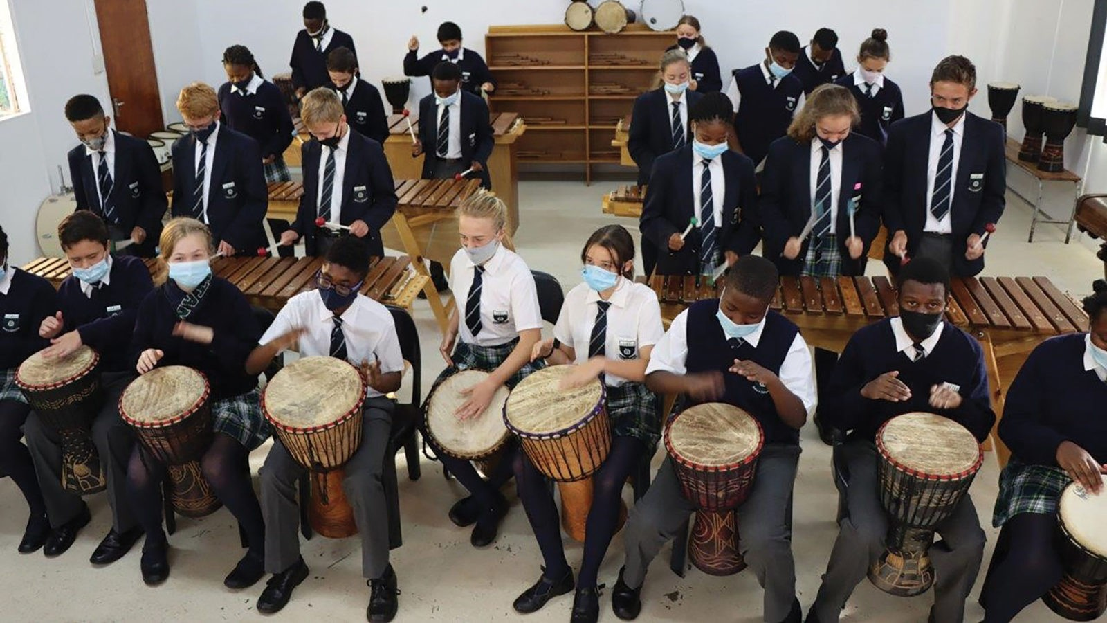 Marimbas in the South African classroom